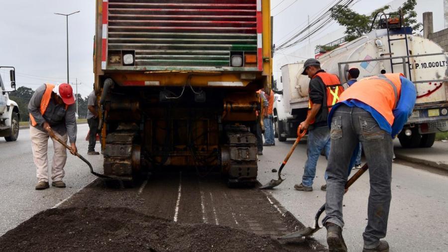 Restaura Gobierno de Altamira la Avenida de la Industria