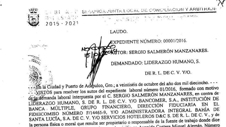 Más de 8 mdp demanda ex Secretario de Turismo  por supuestos sueldos devengados