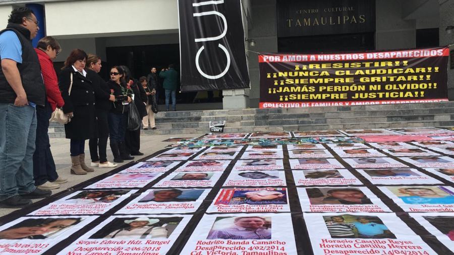 En el Día Internacional de los Derechos Humanos piden por desaparecidos