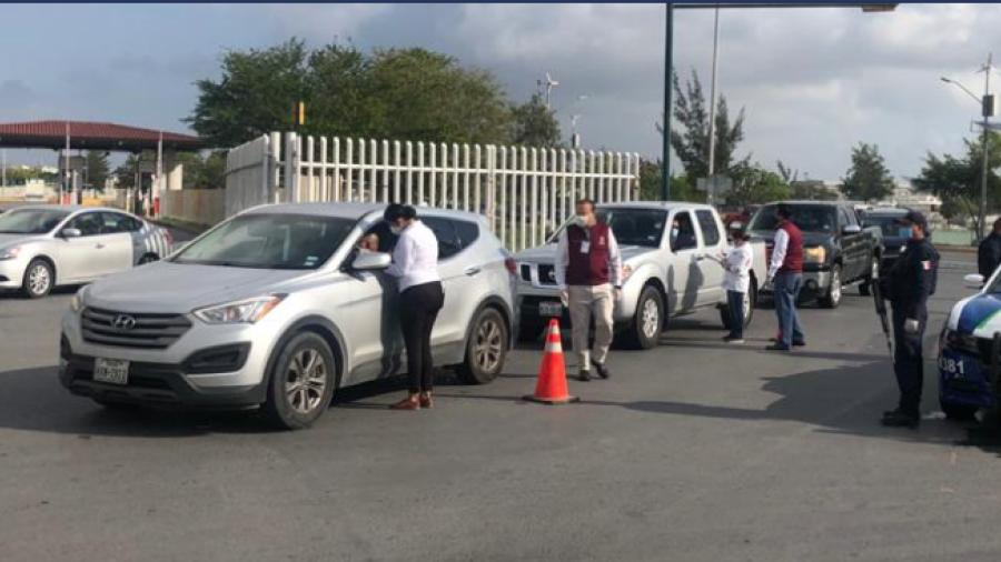 Activará Tamaulipas operativos sanitarios en puentes fronterizos