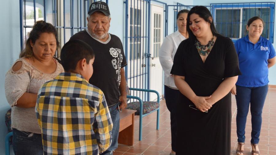 DIF Río Bravo canaliza casos de niños en situación difícil