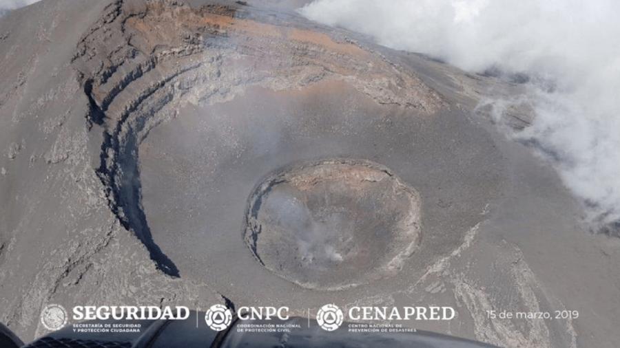Confirman destrucción de domo 82 del Popocatépetl