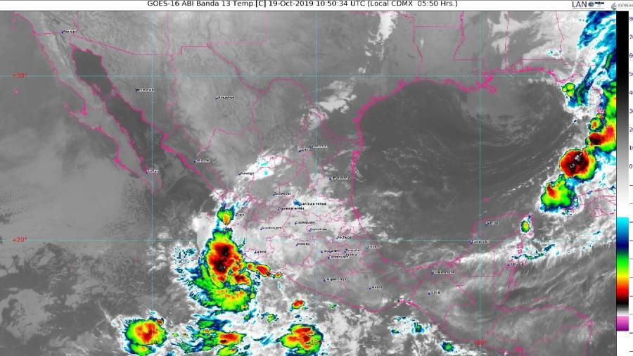 SMN pronostica lluvias en gran parte del país