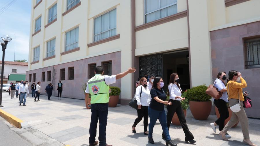 Se suma Tamaulipas al Primer Simulacro Nacional de Protección Civil
