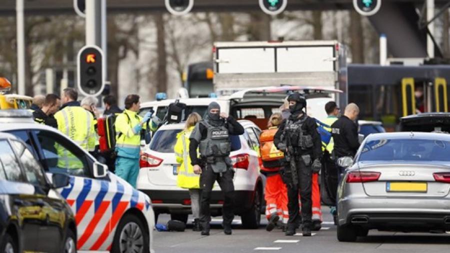 Deja varios heridos un tiroteo en un tranvía en Holanda