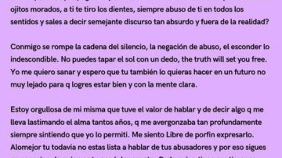 Yo quiero sanar y espero que tú también lo quieras hacer en un futuro: Frida a Alejandra