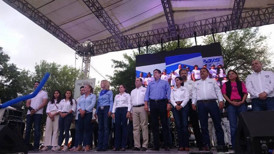 Arranca campaña Carlos García rumbo a la alcaldía de Matamoros