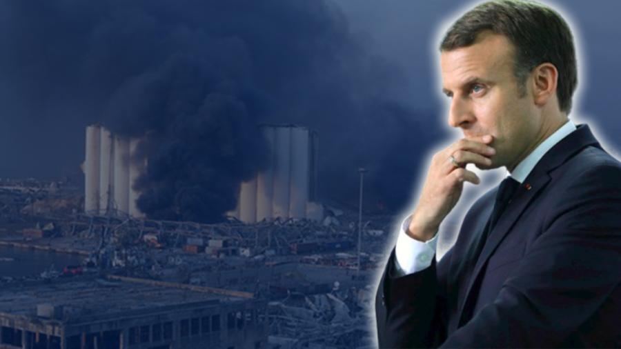 Emmanuel Macron viajará a Líbano tras explosiones en Beirut