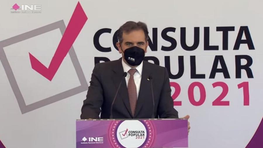 Fueron los legisladores, no el INE, quien cambio la fecha de la consulta: Lorenzo Córdova