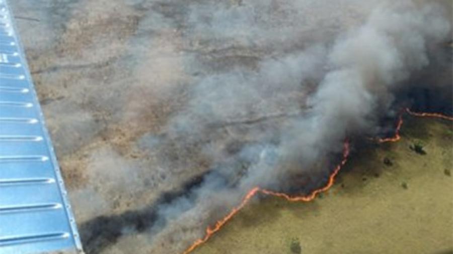 Incendio en  reserva Sian Ka'an controlado en un 45%