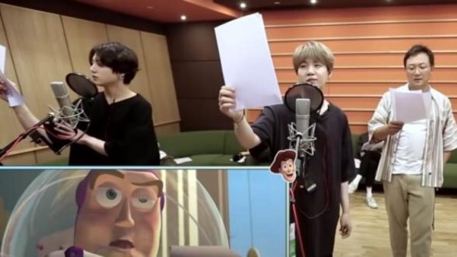 BTS sorprenden con doblaje de voces de Disney