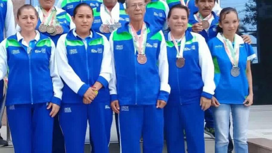 Selección Tamaulipas de atletismo brilla en Nacional Máster