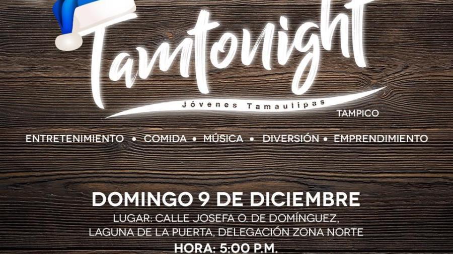 Tamtonight navideño este domingo