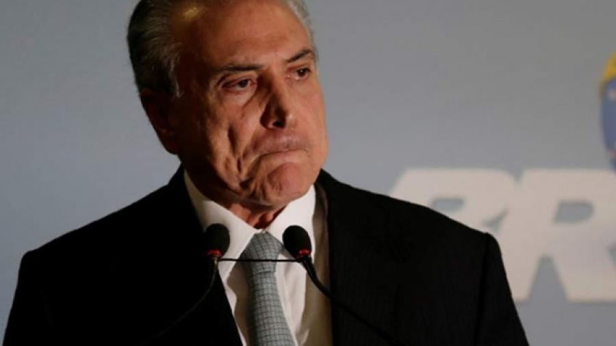 Temer es acusado por Rodrigo Janot