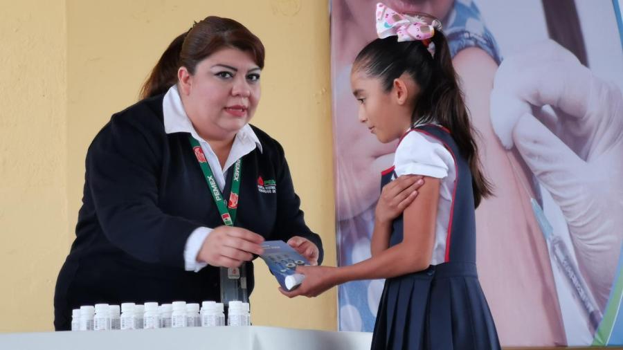 Llama Jurisdicción Sanitaria a vacunar a menores