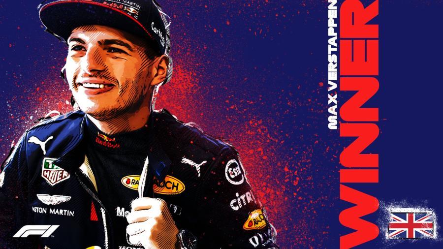 Max Verstappen gana el GP del 70 Aniversario