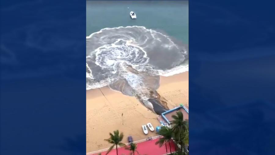 Conagua analiza contaminación en aguas de Acapulco
