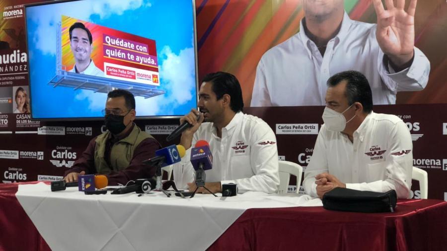Presenta Carlos Peña propuestas de campaña