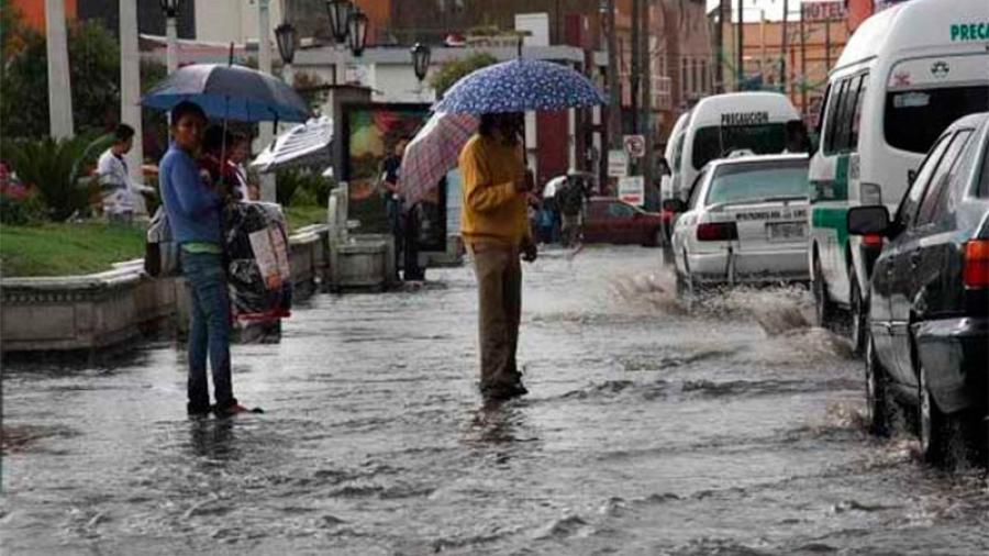 Se esperan lluvias y granizo en gran parte del territorio mexicano