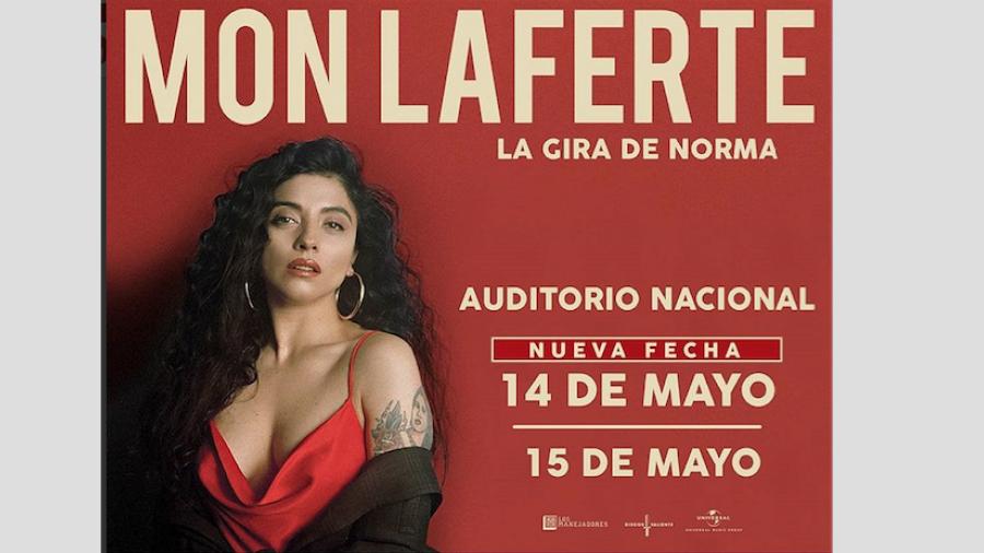 Mon Laferte anuncia segundo concierto en el Auditorio Nacional