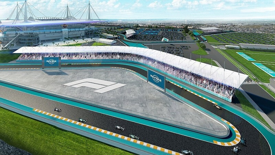 Complejidad para el GP de F1 en Miami: F1