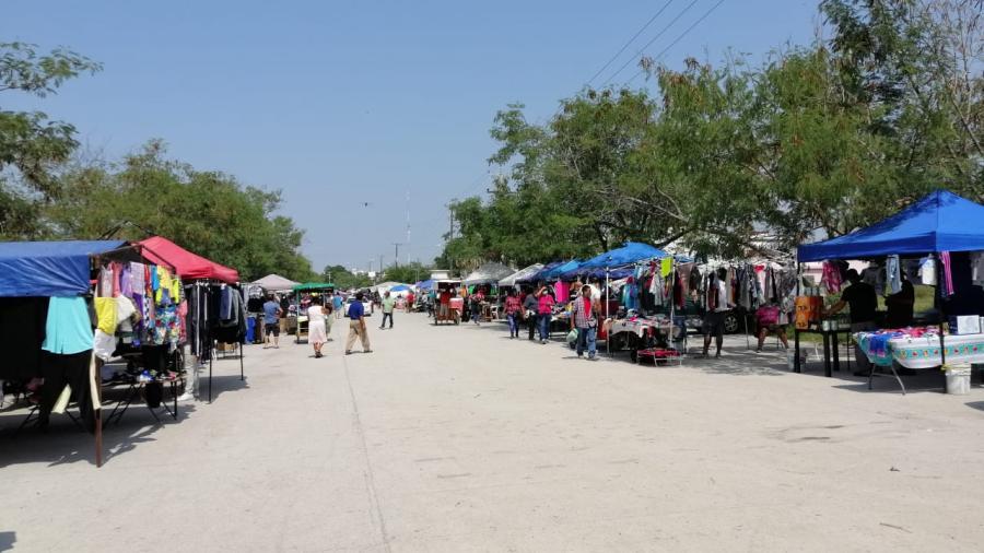 Comienza reapertura de mercados ambulantes en Reynosa