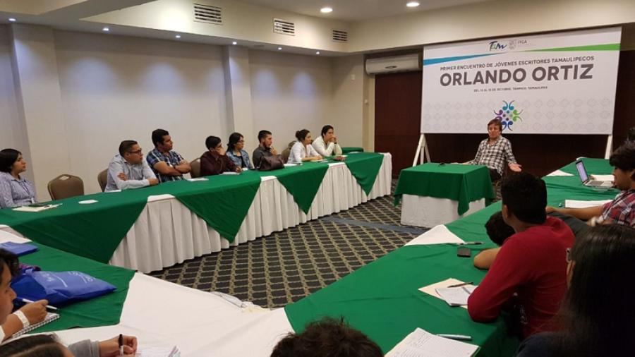 """Primer encuentro de jóvenes escritores tamaulipecos """"Orlando Ortiz"""""""
