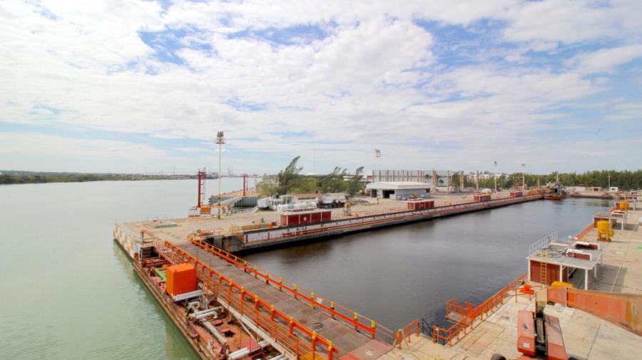 El Dique Seco del Cerenav cumple 36 años de dar servicio a embarcaciones