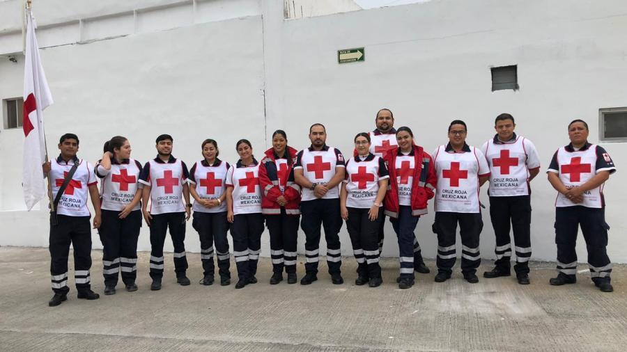 Revela Cruz Roja plan de trabajo en Semana Santa
