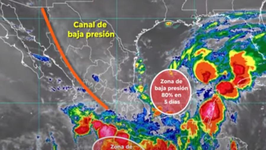 """Claudette"" ocasionará fuertes lluvias en Tamaulipas"