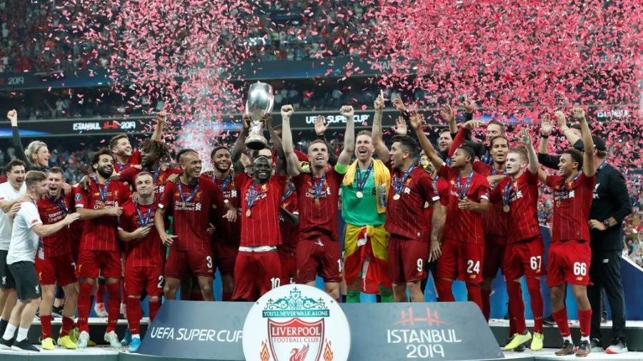 Liverpool campeón de la Supercopa de Europa
