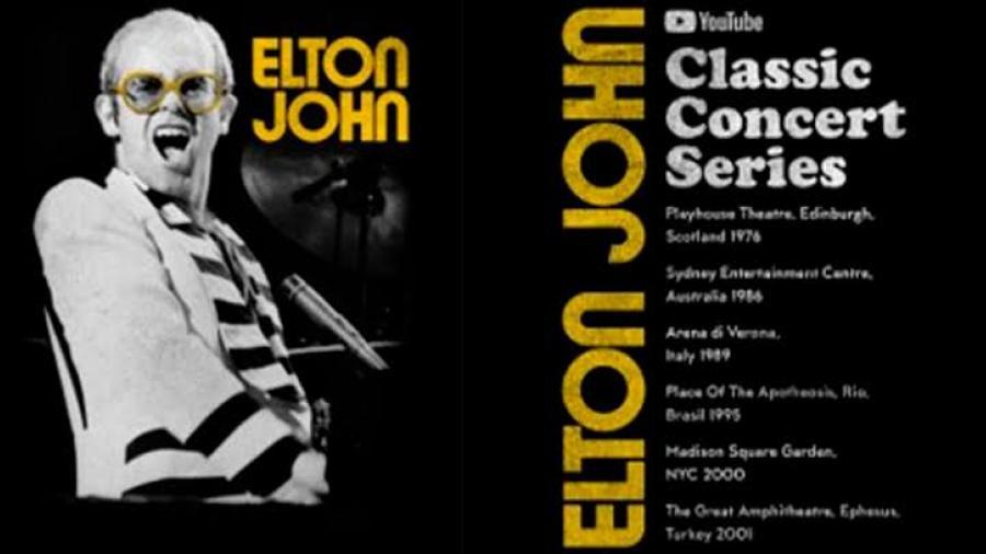 Lanzará Elton John un serial de conciertos icónicos