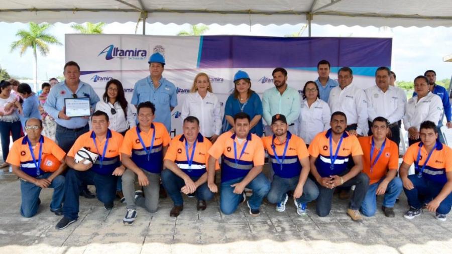 Fortalecen Gobierno Municipal y COMAPA Altamira seguridad laboral
