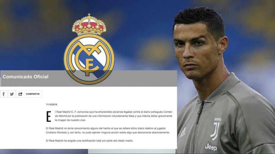 Real Madrid denuncia al diario Correio da Manhã