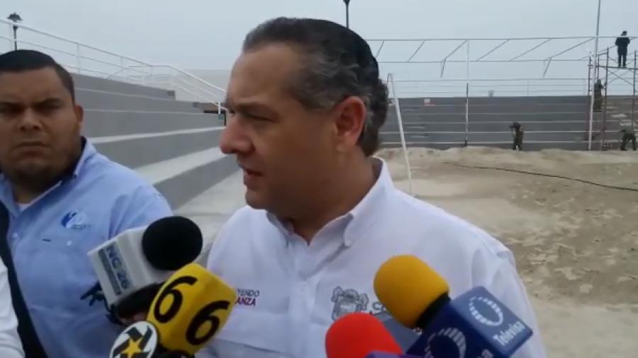 Alistan Polideportivo de Playa Miramar para Semana Santa