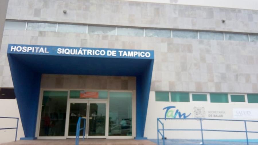 Presenta Psiquiátrico de Tampico brote de COVID