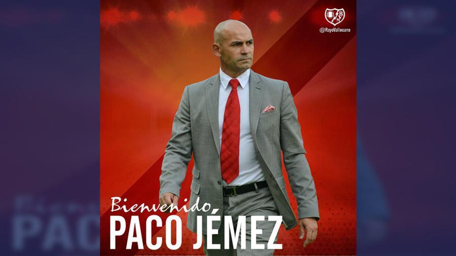 Paco Jémez será el nuevo entrenador del Rayo Vallecano