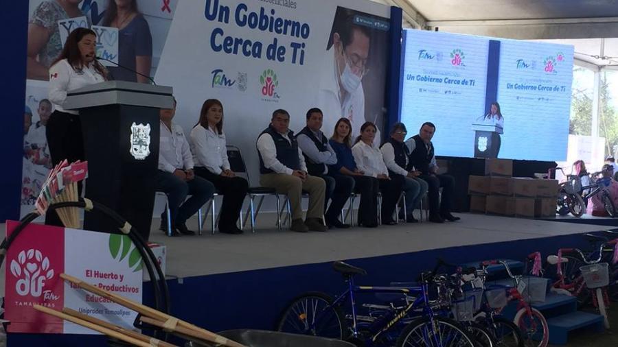 """Llega """"Un Gobierno Cerca de Ti"""" a familias de Miguel Alemán y Mier"""