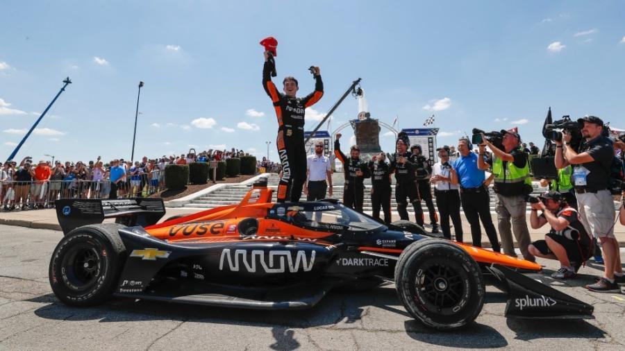 O'Ward conquista su segundo triunfo en IndyCar