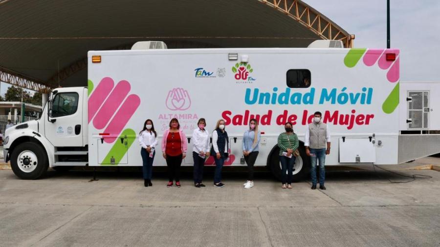 """Activa Alcaldesa de Altamira """"El Camión de la Salud''"""