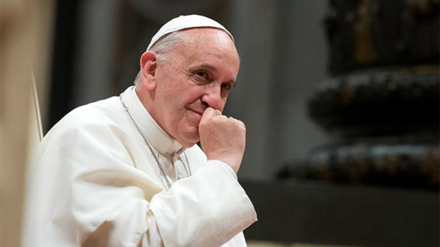 Papa dice que ha pensado en el momento de la 'despedida'