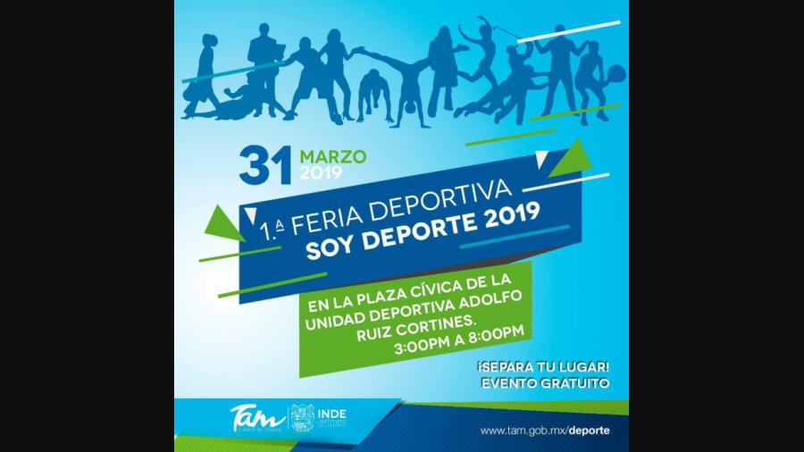 """Nace Feria Deportiva """"Soy Deporte"""""""