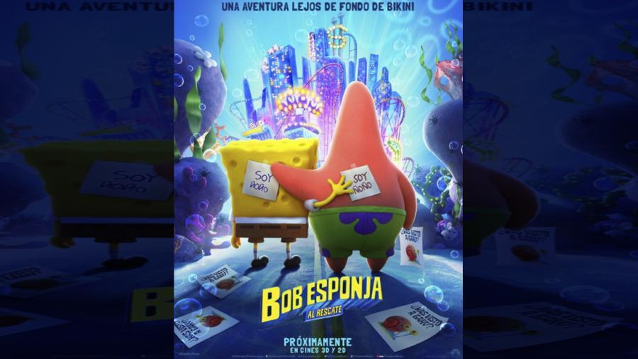 """Revelan tráiler oficial de """"Bob Esponja al Rescate"""""""