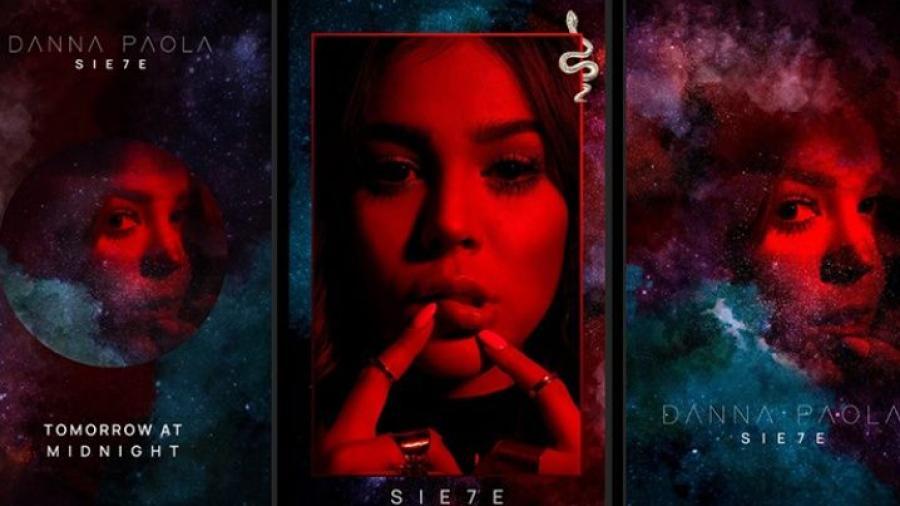 """Danna Paola presenta """"SIE7E"""", su nuevo material"""