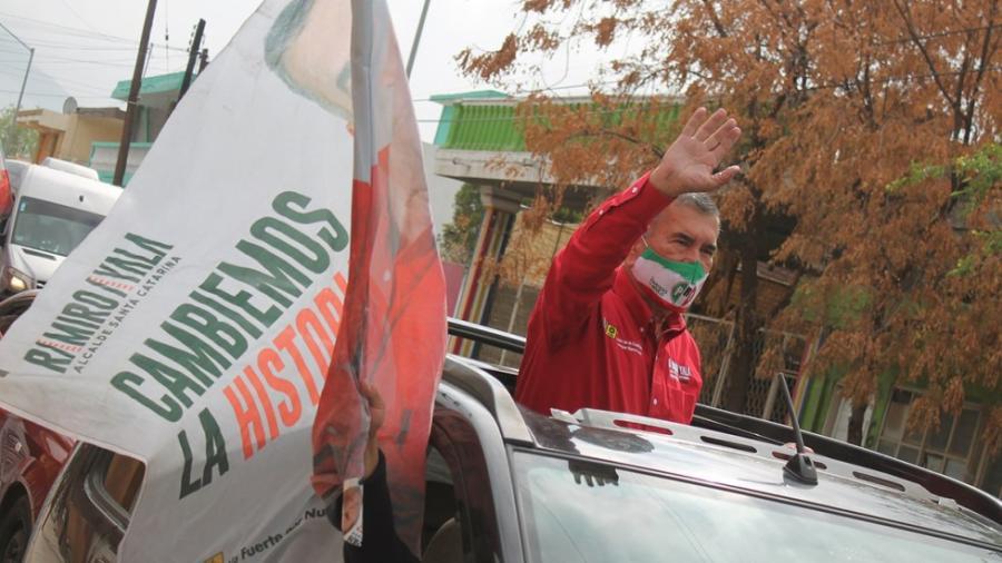 Fallece Ramiro Ayala candidato del PRI a la alcaldía de Santa Catarina, NL