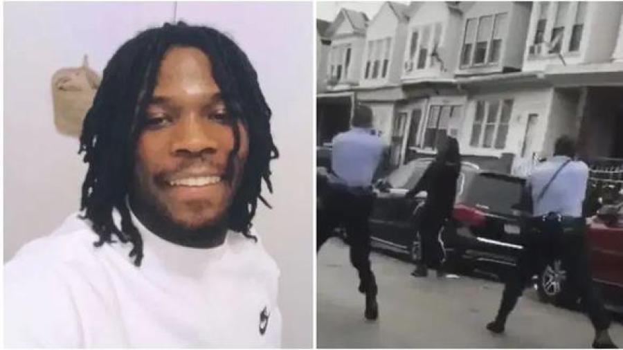 Caos en Filadelfia por asesinato de un hombre negro por parte de policías