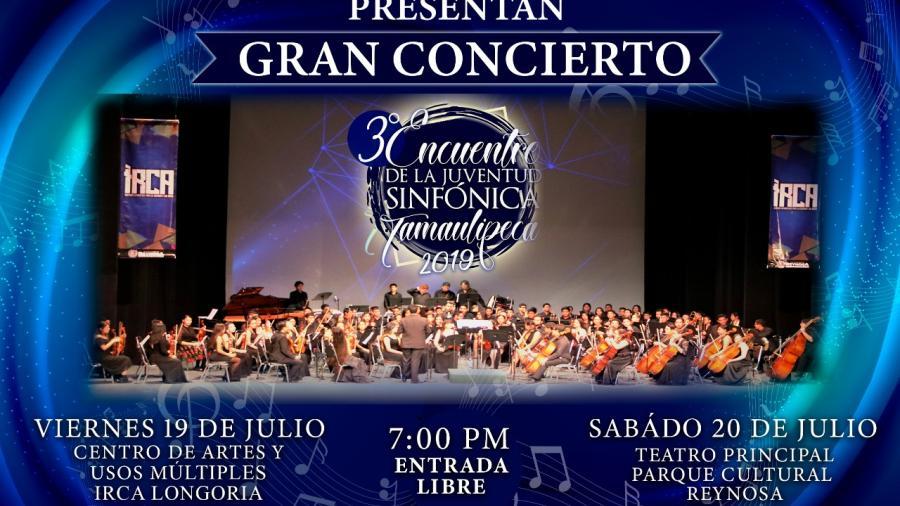 Dio inicio el 3er Encuentro de la Juventud Sinfónica Tamaulipeca