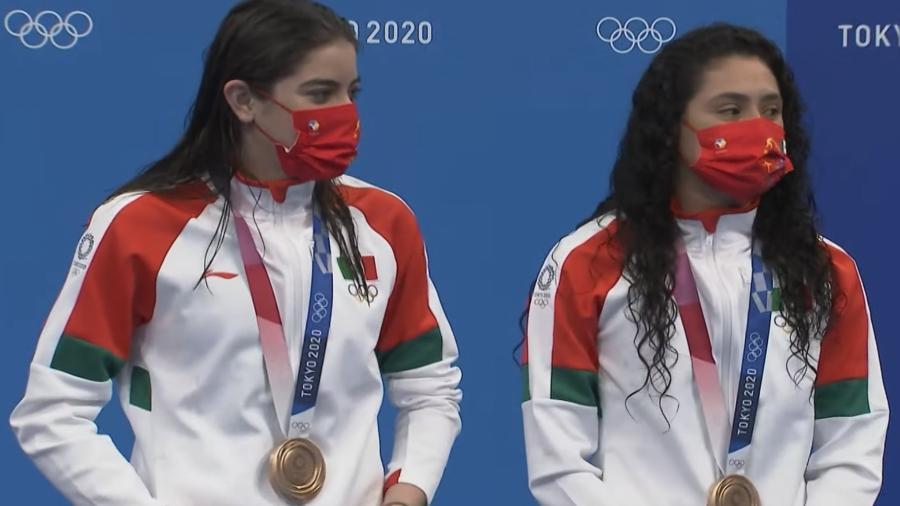 ¡Bronce para México en clavados sincronizados femenil!