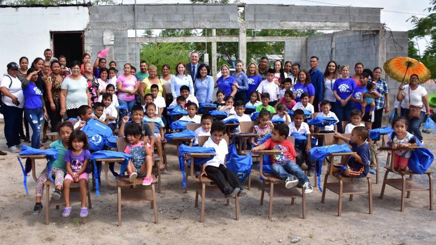 Apoya DIF Reynosa a Escuela Perseverancia ante petición de padres de familia