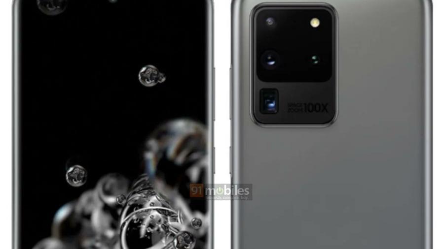 Se filtran nuevas imágenes del Galaxy S20 Ultra